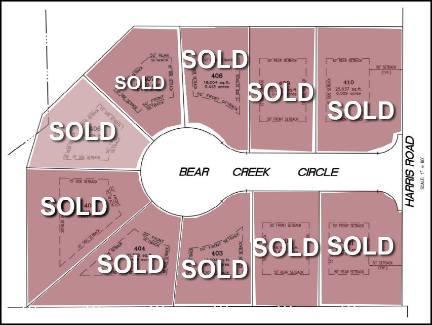 Bear Creek layout